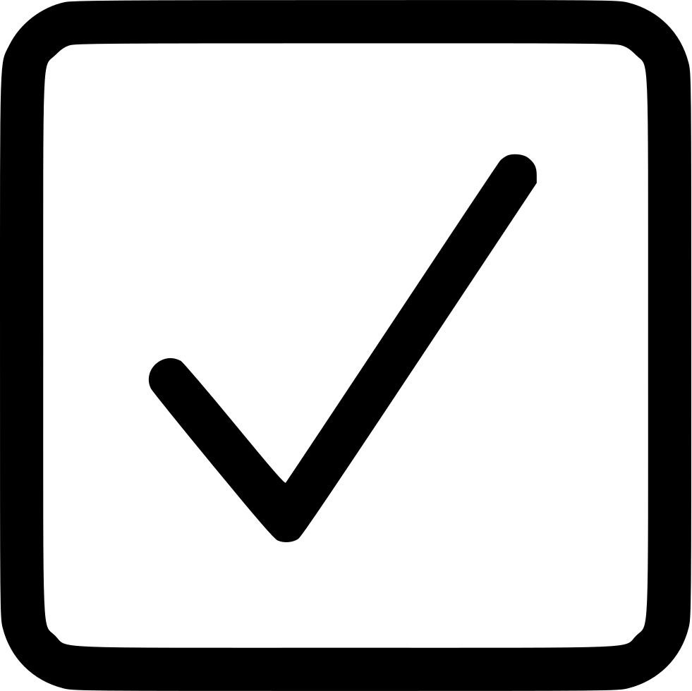 Checkbox Square Checked Svg Png Icon Free Download (#521118.