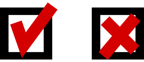 Red Check Clipart.
