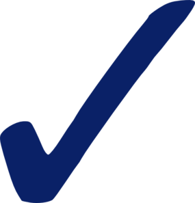 Check Mark Clipart Png.