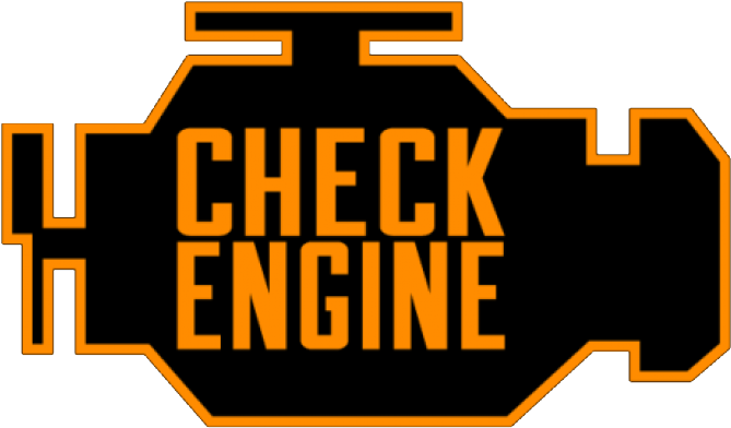 Check Engine Png.