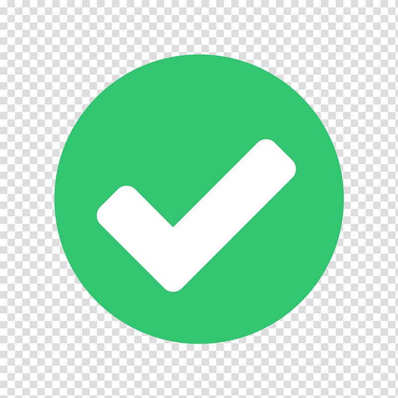 Green and white check icon, Check mark Checkbox Computer Icons.