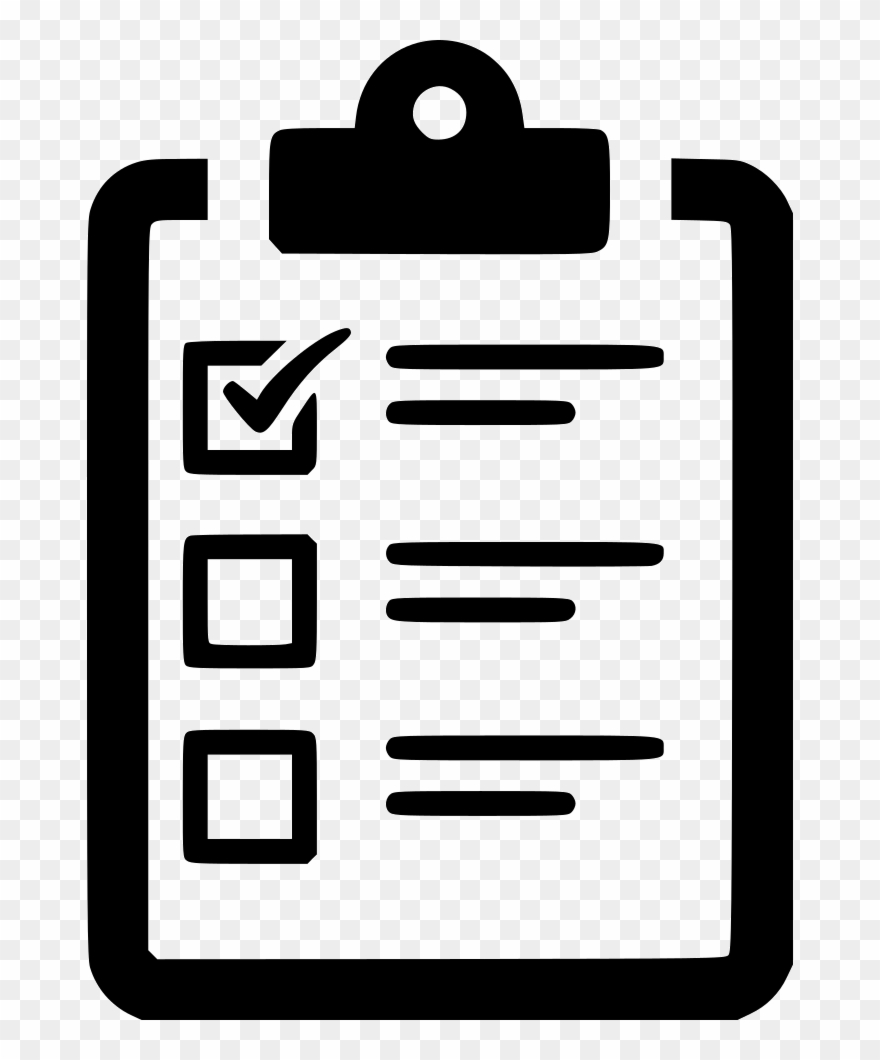 Checklist Poll Task To Do List Clipboard Comments.