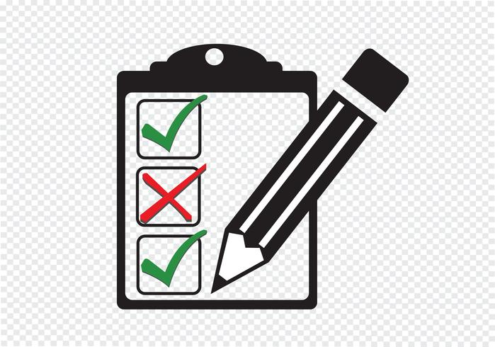 checklist icon Symbol Sign.