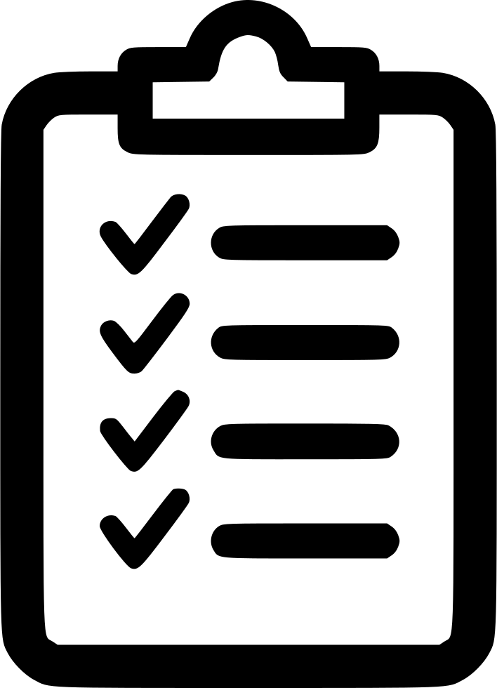 Checklist Svg Png Icon Free Download (#451900).