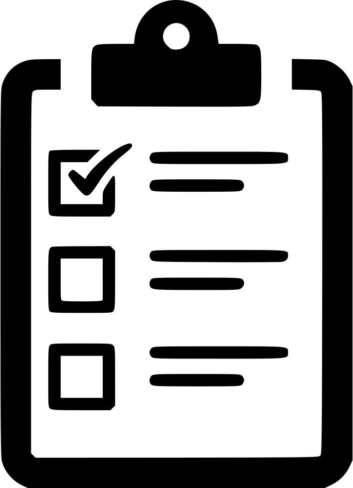 Checklist Poll Task To Do List Clipboard Svg Png Icon Free Download.