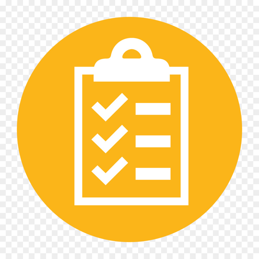 Checklist Icon png download.