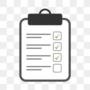 Check List PNG Images.