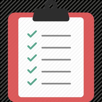 Download Free png Checklist Transparent Images PNG.