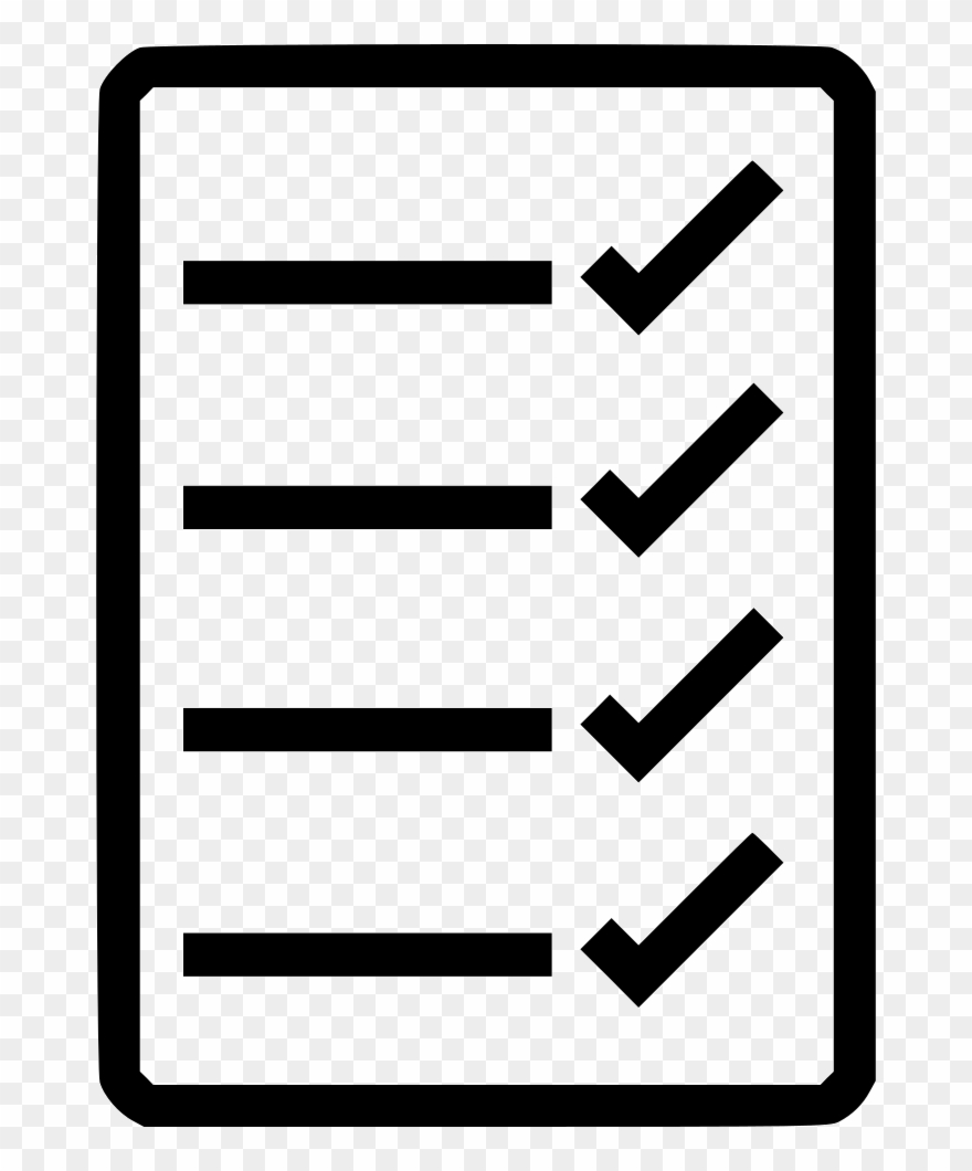 Checklist Png Clipart Computer Icons.