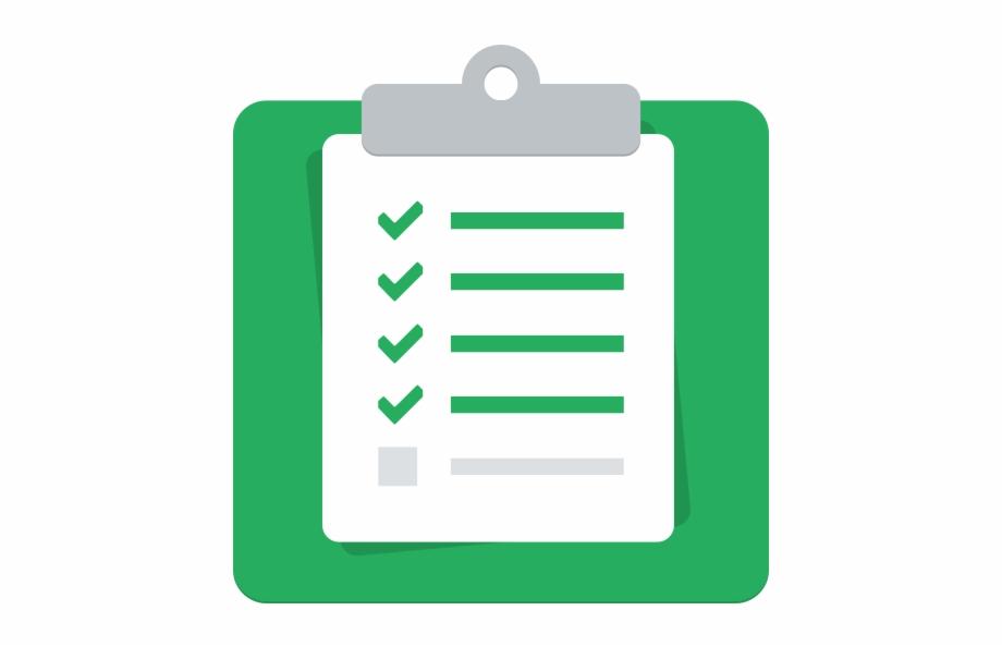 Checklist Icon Png.