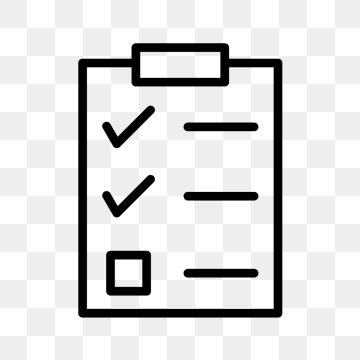Checklist Icon PNG Images.
