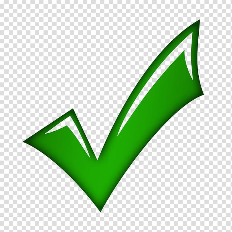 Check logo, Check mark , green tick transparent background.