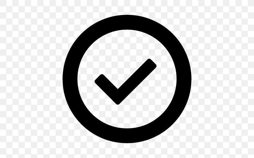 Check Mark Symbol Clip Art, PNG, 512x512px, Check Mark, Area.