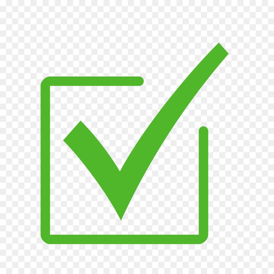 Green Check Mark png download.