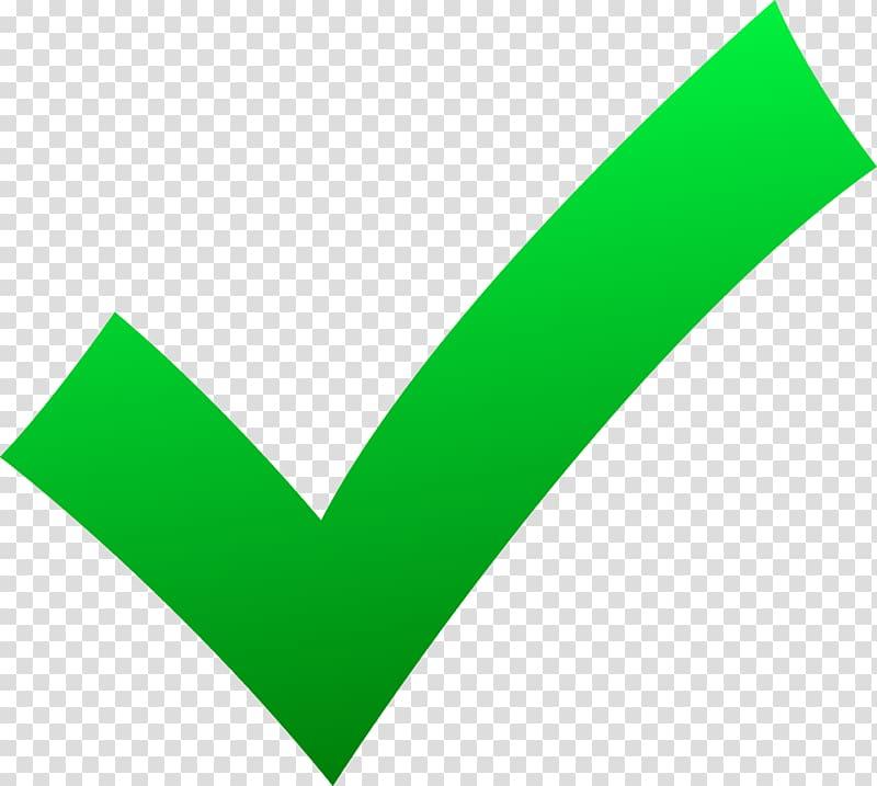Check mark X mark , Check Marks, green check logo transparent.
