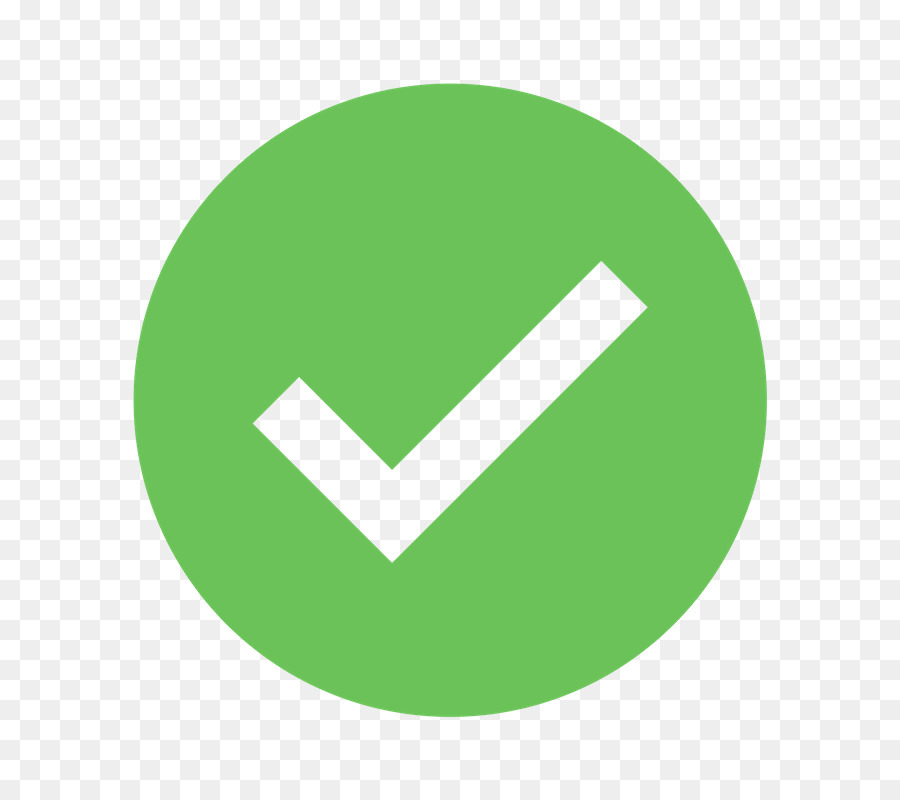 Green Check Mark Icon png download.