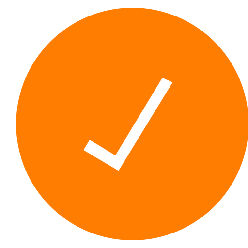 Check, checkmark icon.