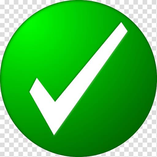 Green and white check logo, Check mark Computer Icons , Check Mark.