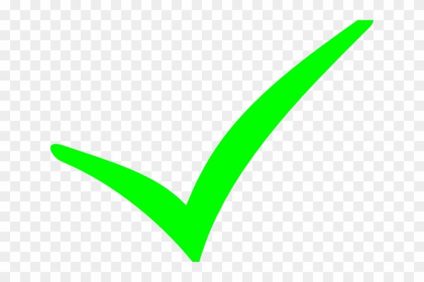 Green Tick Clipart Check Mark.