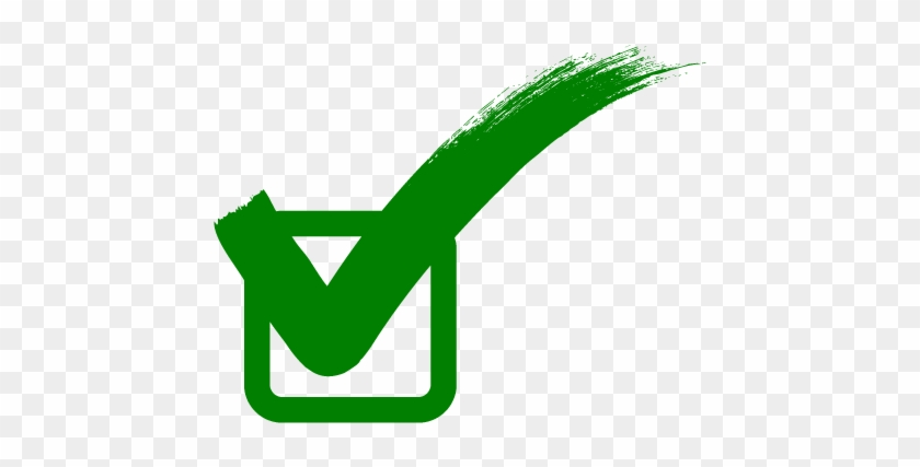 Green Tick Png Free Download.