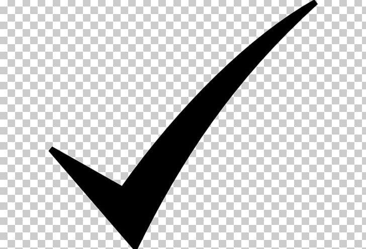 Check Mark Symbol PNG, Clipart, Angle, At Sign, Black And White.