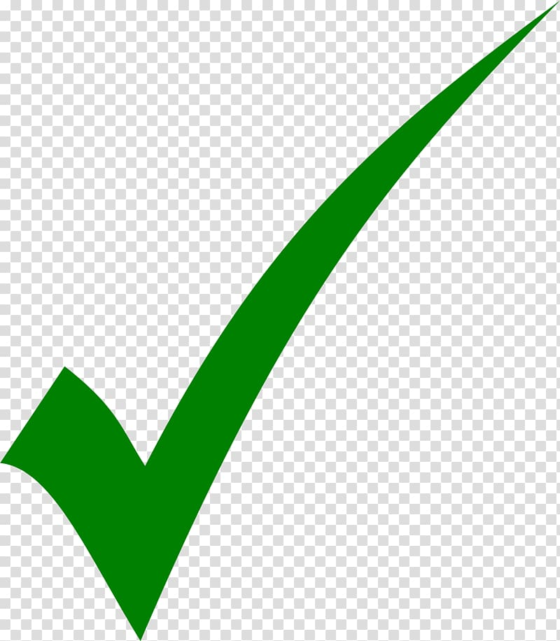 Green check , Check mark Tick , Tick transparent background.