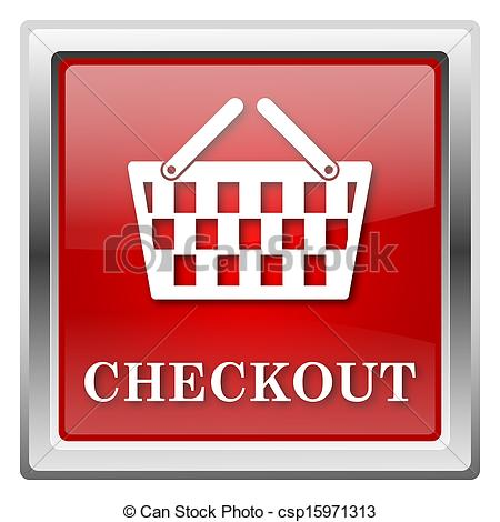 Clipart of Checkout icon.