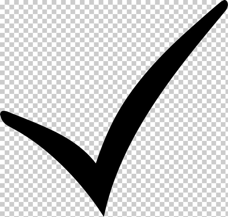 Check mark Computer Icons Symbol Sign , Black Check Mark PNG.