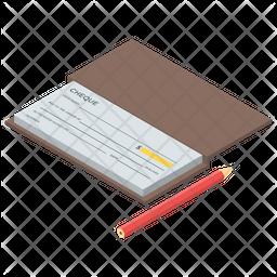 Checkbook Icon.