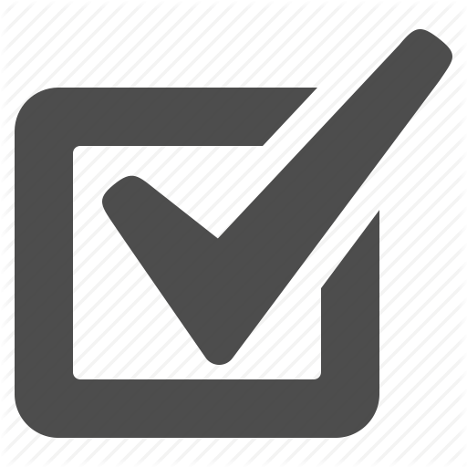 Checkbox Icon Png #283398.