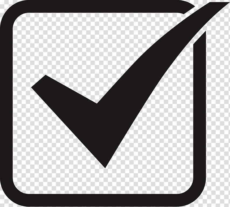 Checkbox icon, Checkbox Button , tick box transparent background PNG.