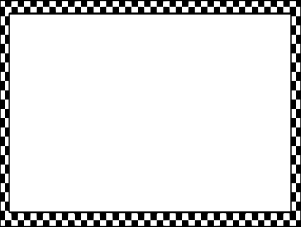 Free Checkered Flag Clip Art Borders.