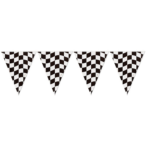 Checker Flag Clipart Borders.