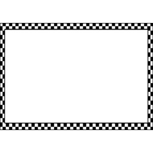 Checkered Clipart Border.