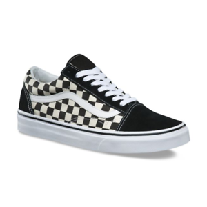 Details about Vans OLD SKOOL Primary Check Mens Shoes *NEW Checkers  CHECKERBOARD Free Shipping.