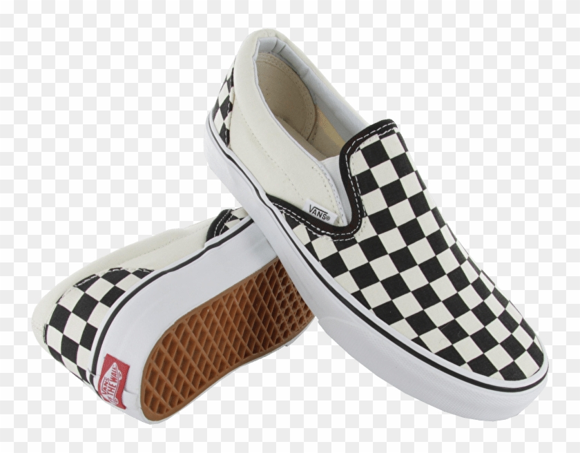 Transparent Vans Checkered.