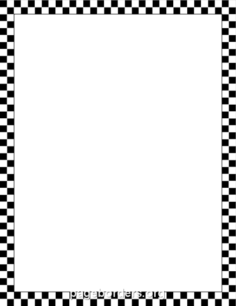 Free Checkered Borders: Clip Art, Page Borders, and Vector Graphics.
