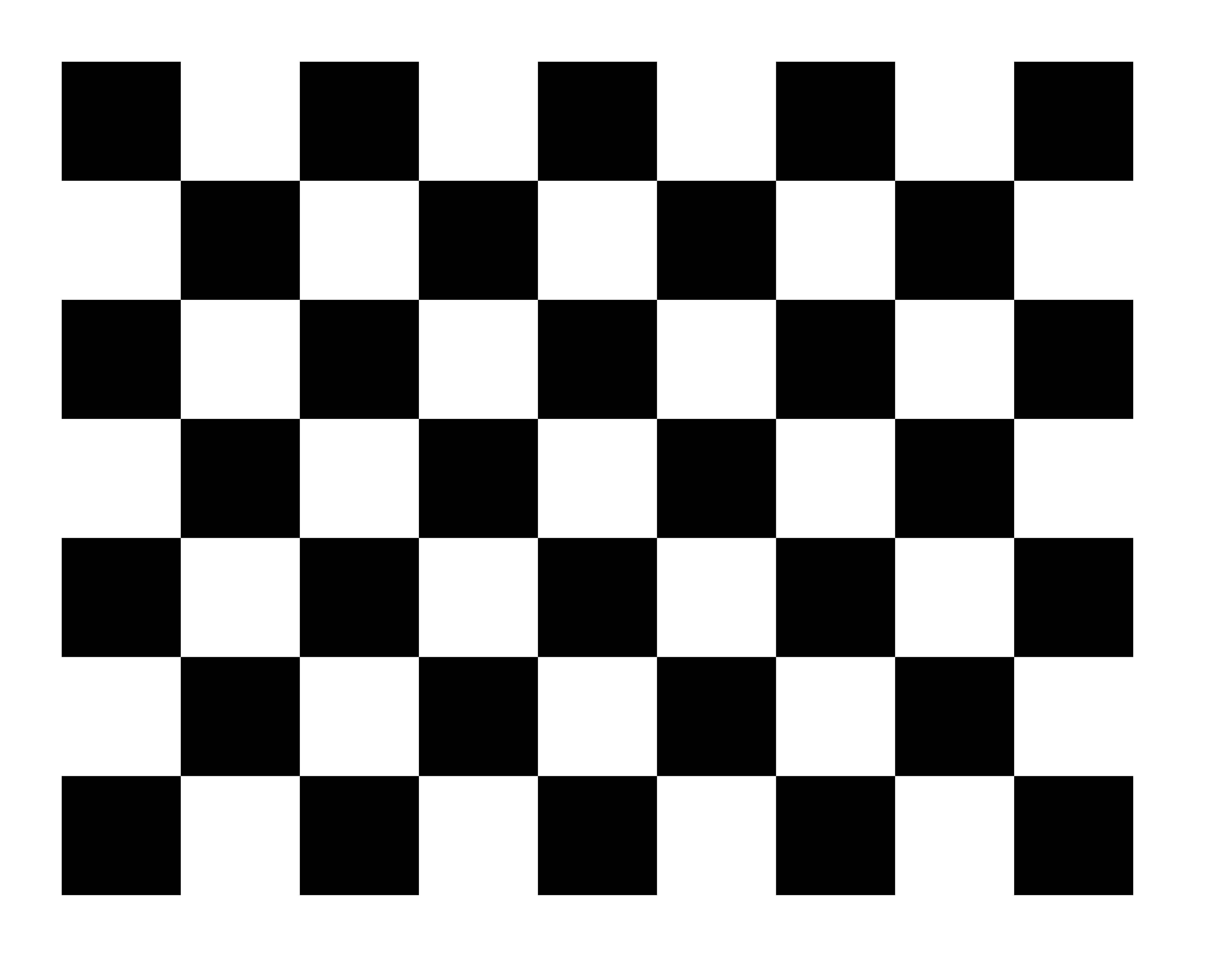 Checkerboard Border.