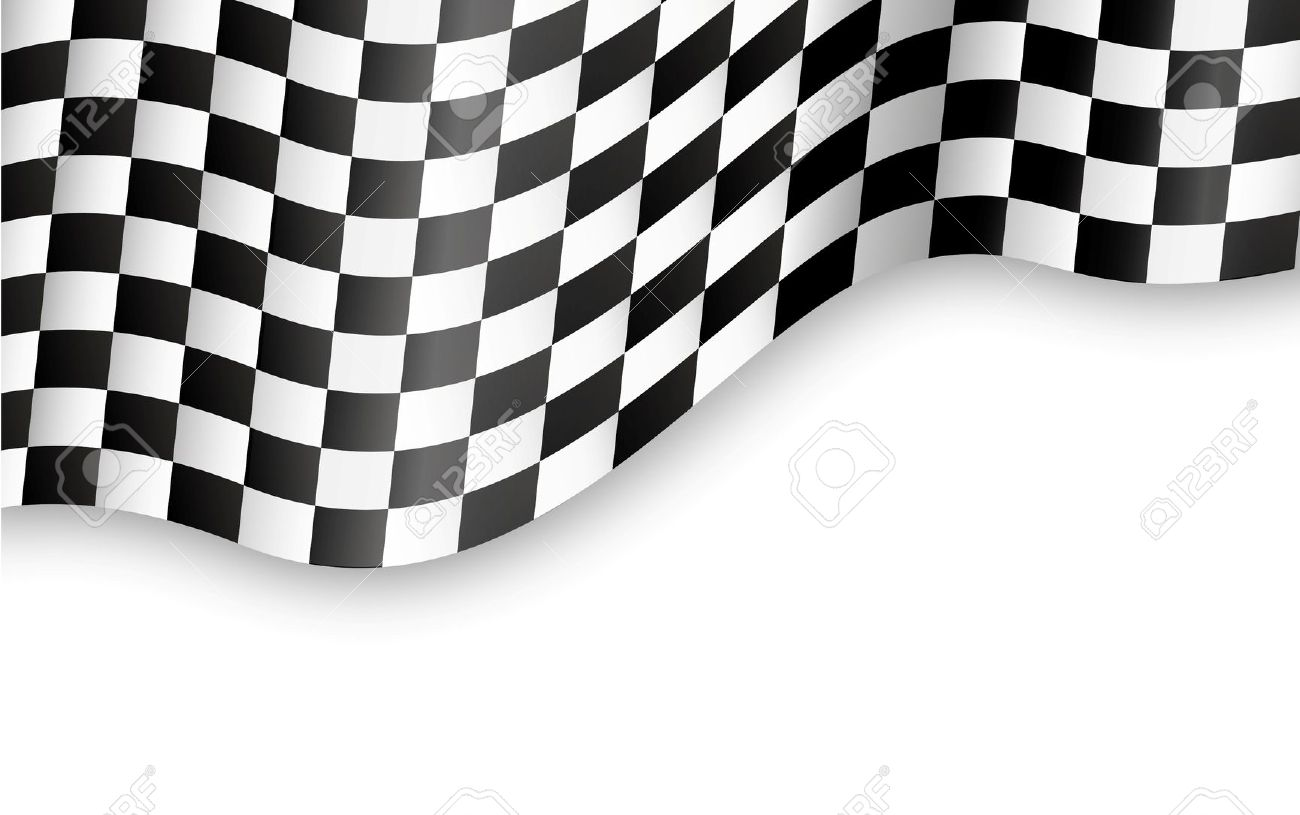 Checkered flags background clipart.