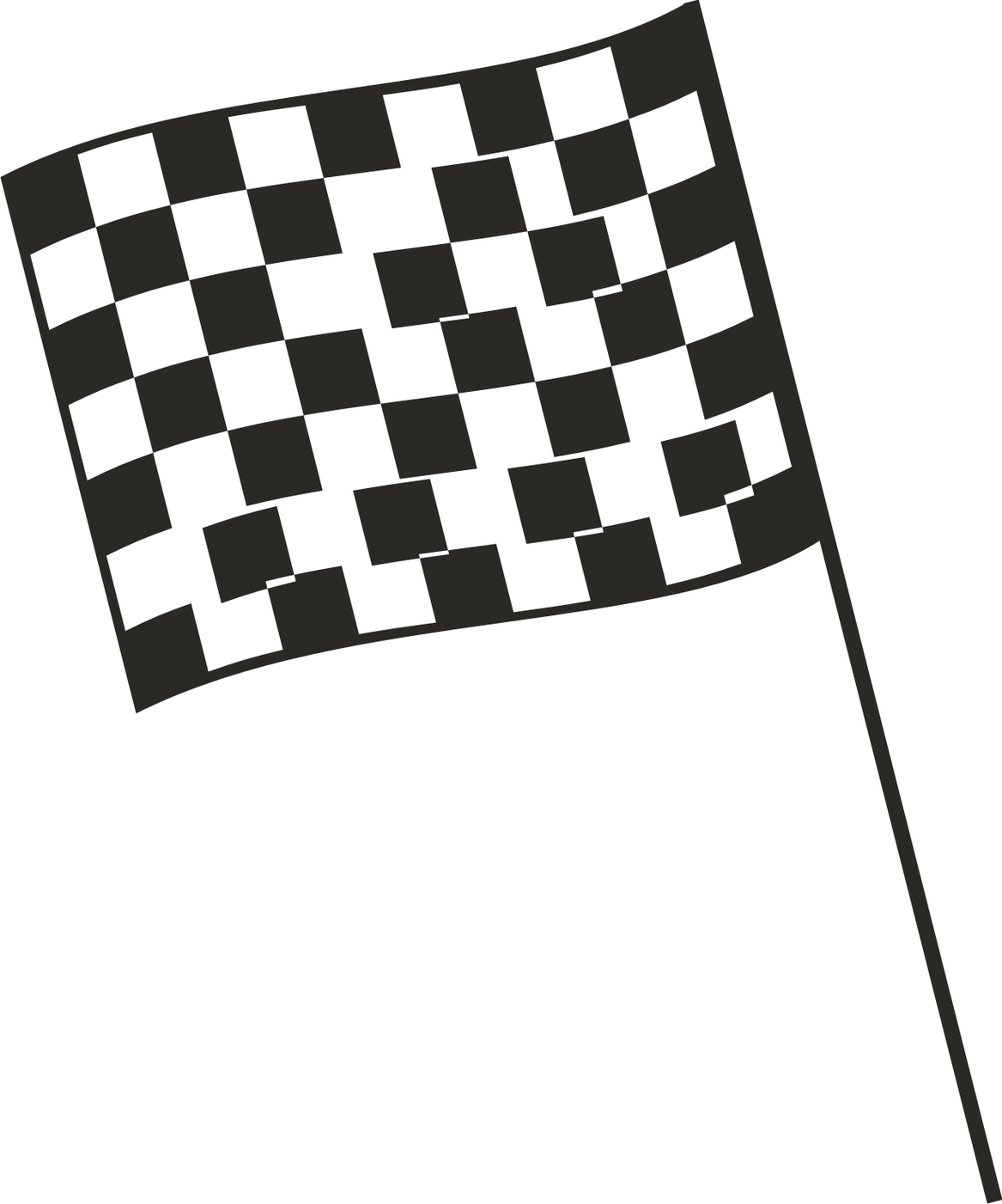 Graphics and clip art checkered flag clipart.