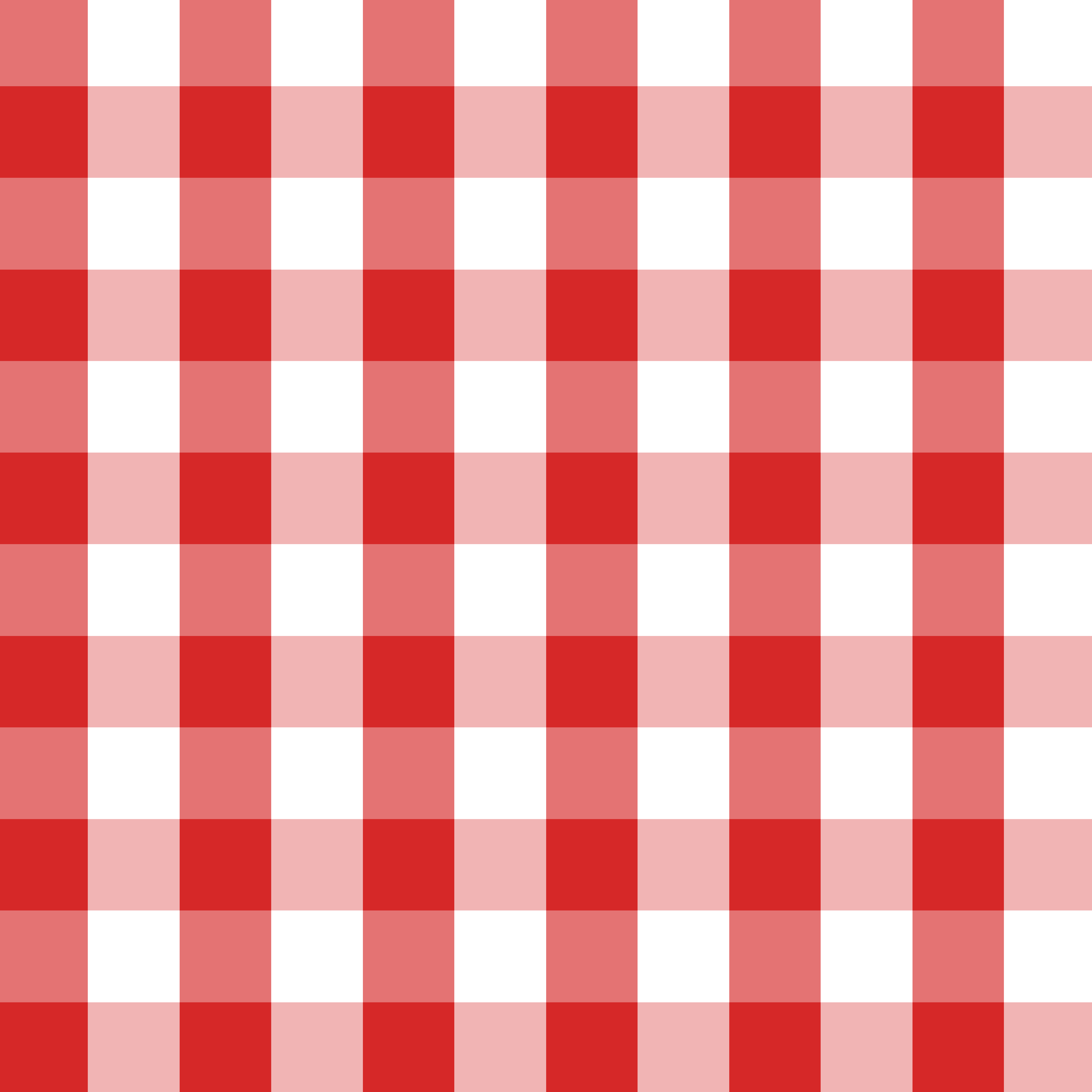 Red And White Checkered Rug: Red And White Checkers Clipart