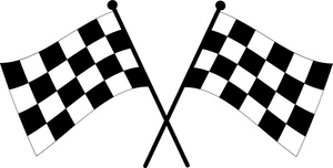 Checkered Flag Clipart.