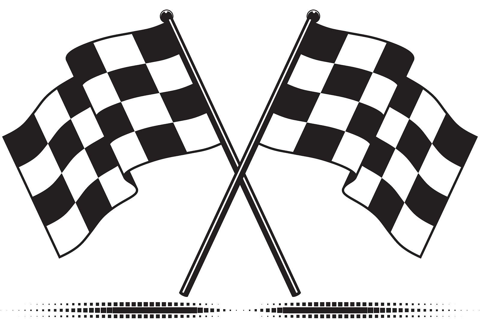 racing flags coloring pages - photo#24