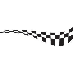 Racing & Checkered Flags EPS Vector Sign Clipart.