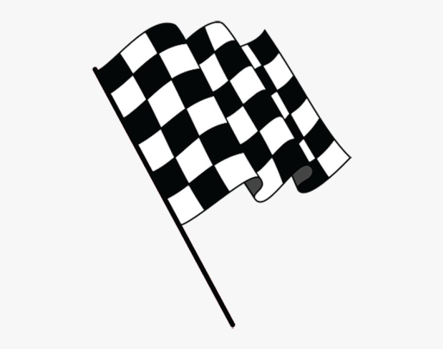 Transparent Checkered Flag Banner Png.