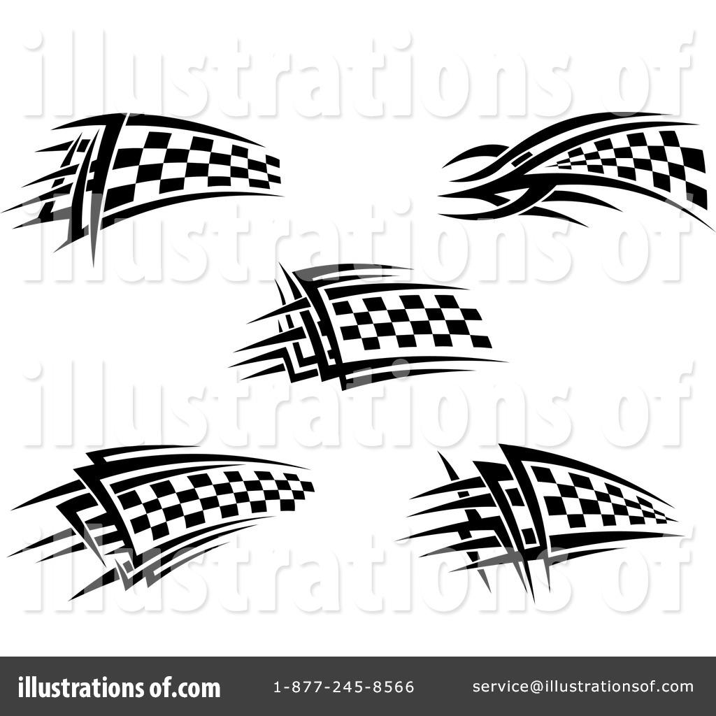 Checkered Flag Clipart #1110371.
