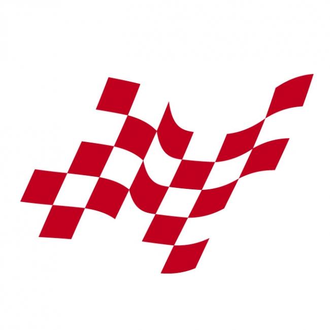 Checkered flag Logos.