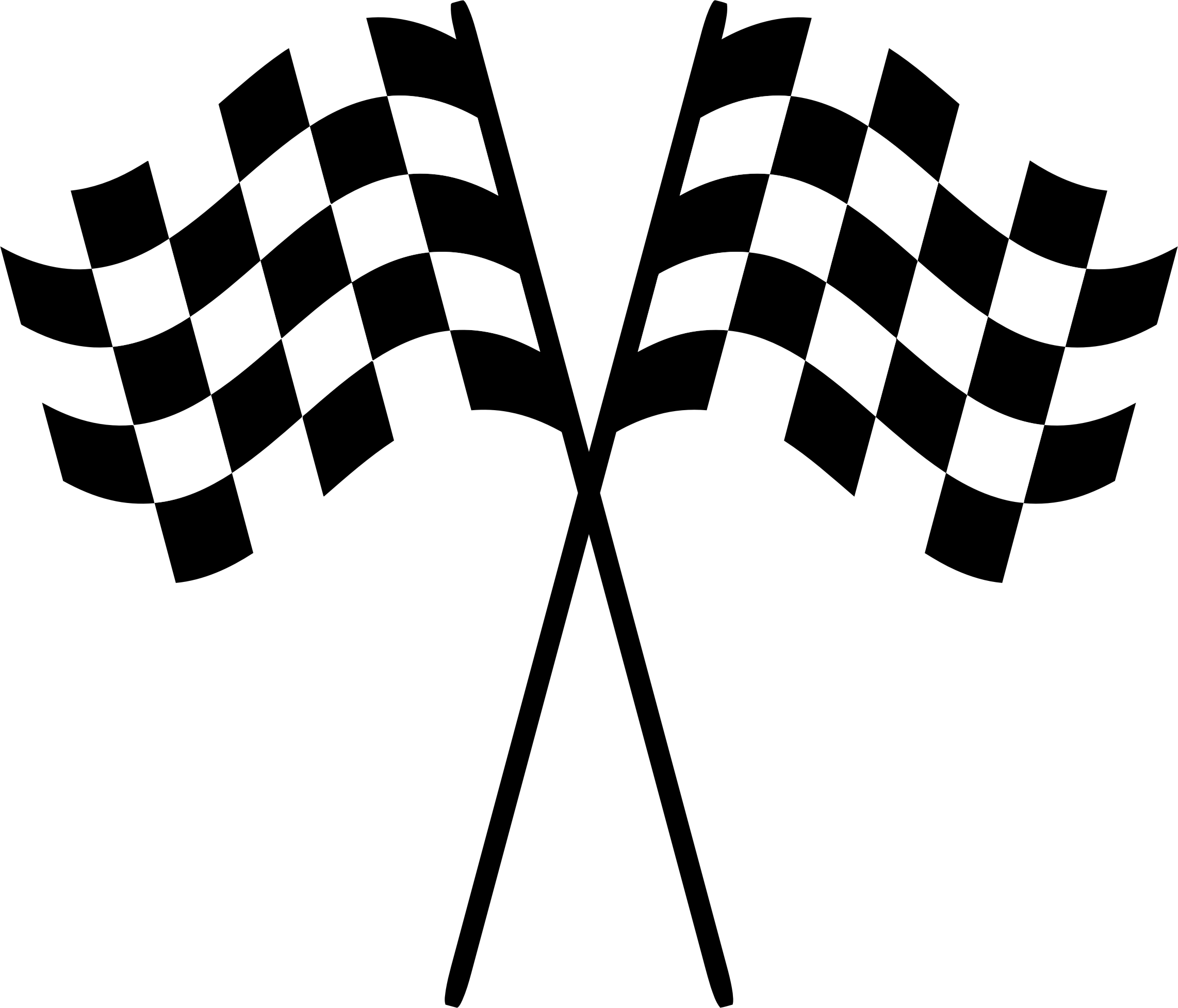 Racing flags Check Clip art.
