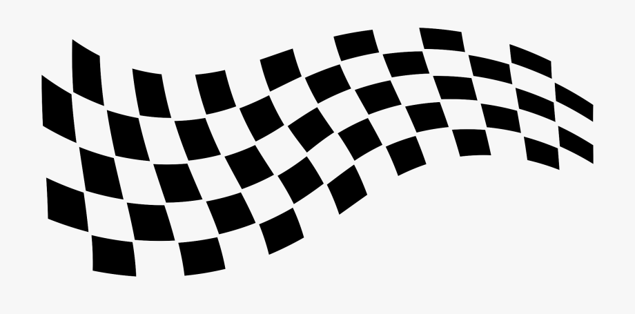 Checkered Finish Line Clipart.