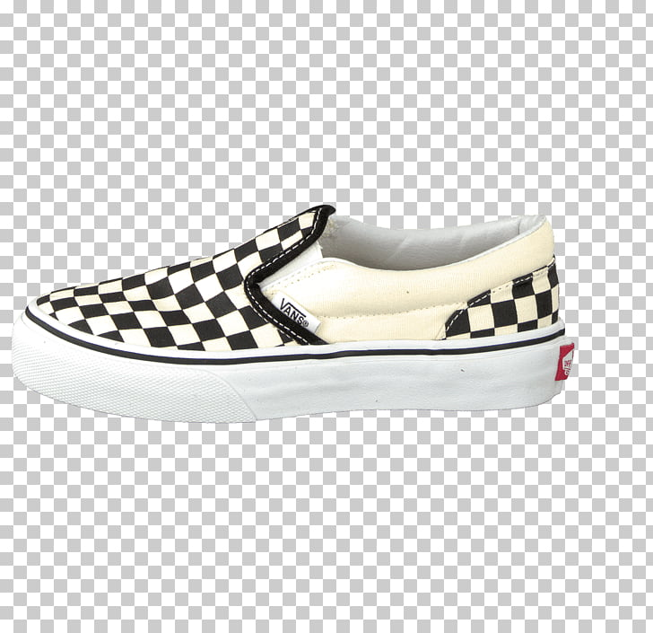 Sports shoes Kids Vans Classic Slip On, checkered vans PNG.